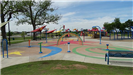 Bench and Splash Pad