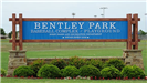 Bentley Park Sign