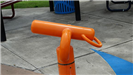 Orange water disperser
