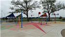 Splash Pad with trees in background