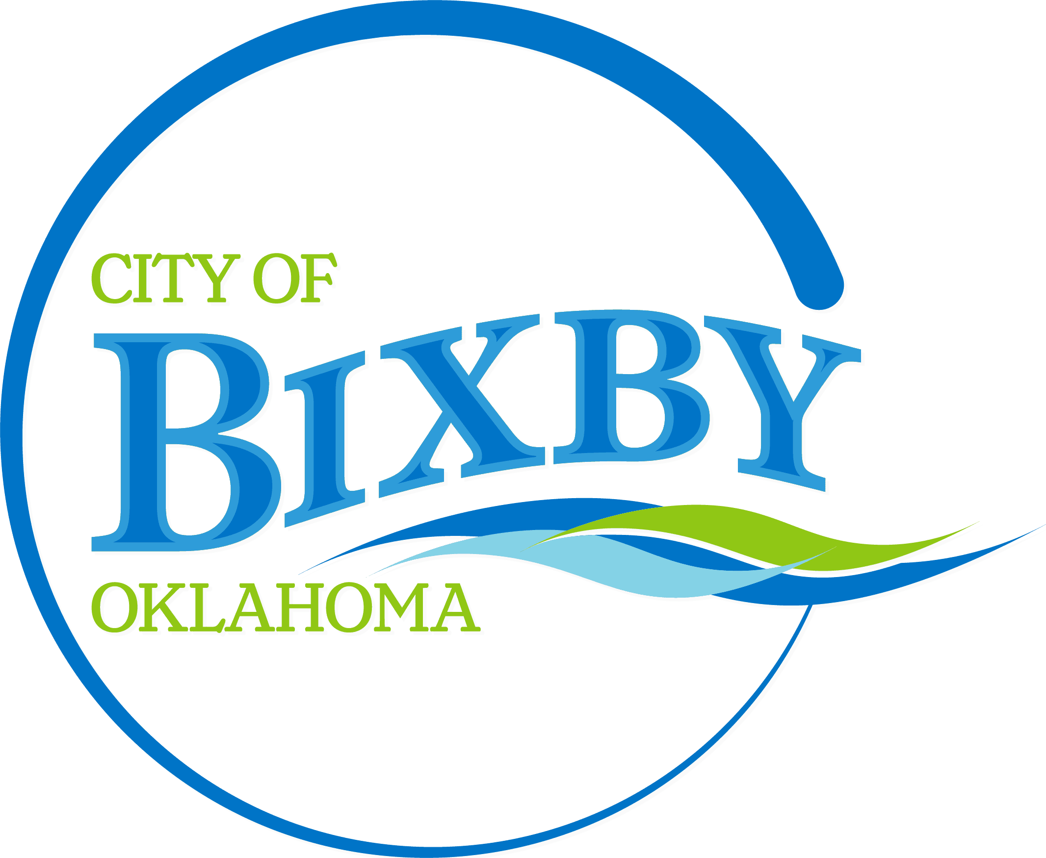 Bixby OK City Logo internal link to City home page