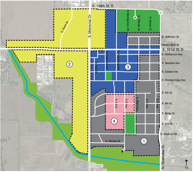 Bixby Downtown Overlay Map