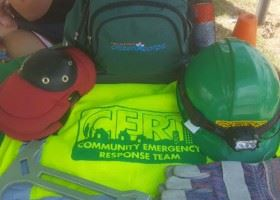 CERT Team provided equipment