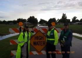 CERT Team assisting with Flooding in South Bixby